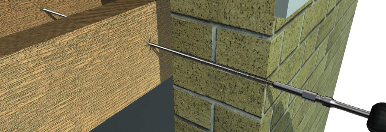 Fixing Bulging Walls To Floor Joists