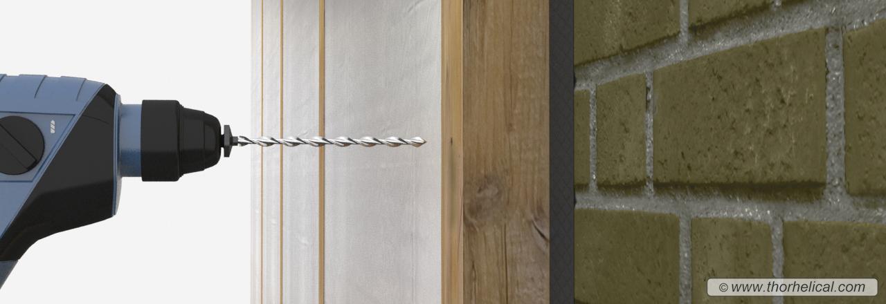 fixing battens to walls