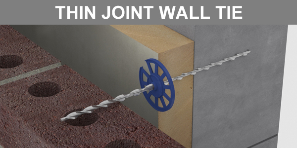Thin Joint Wall Ties