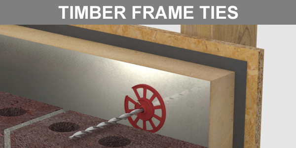 Thor Helical Timber Frame Ties