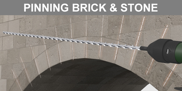 Pinning Brick and Stone Arches