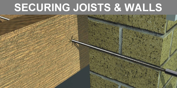 Fixing bulging Walls to Floor Joists