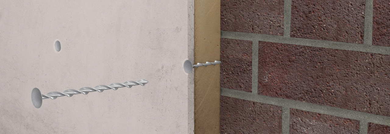 Drywall fasteners for fixing insulated plasterboard laminates