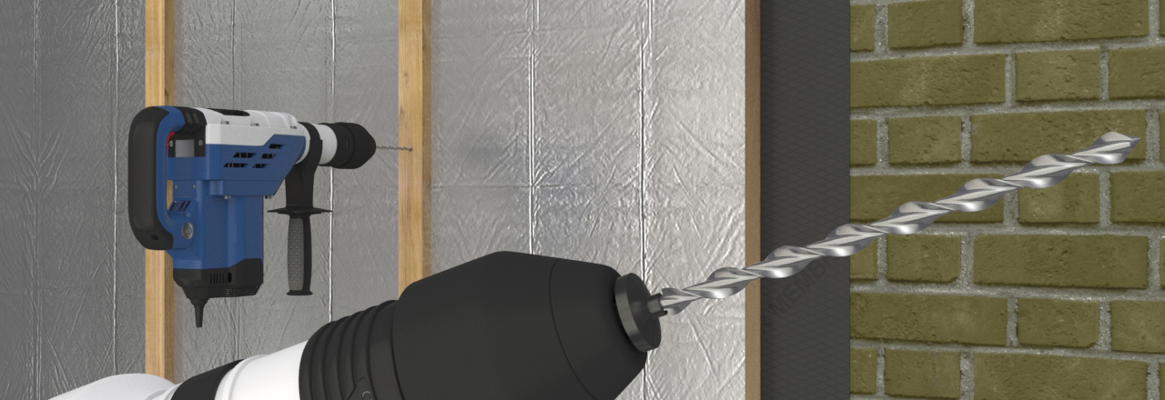 fixing insulation to walls with battens