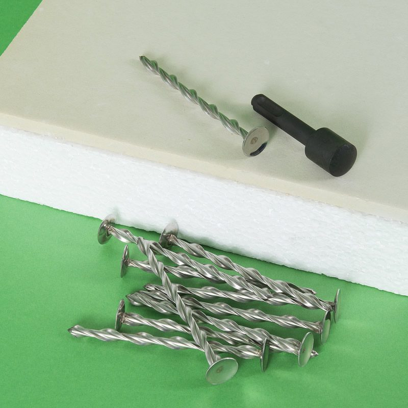 Mechanical Fixings for Insulated Plasterboard Laminates