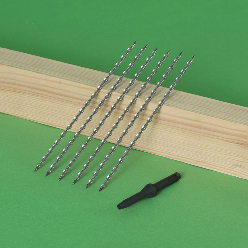 Wall Ties for Timber Frame Construction