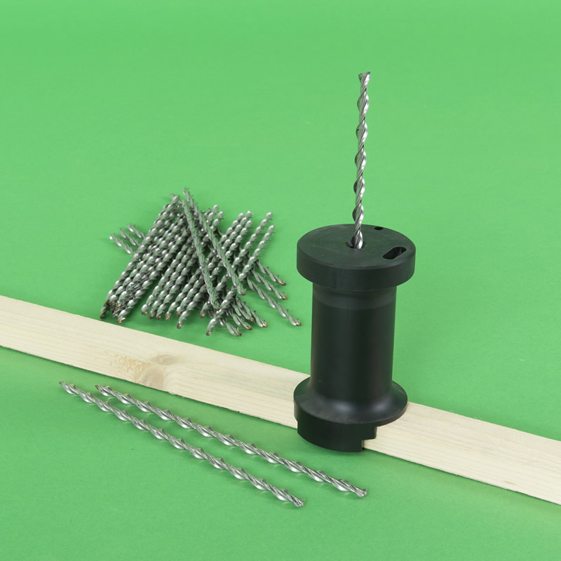 BZP 90 to  270mm Roofing Nails Warm Roof Fixing Helical Flat Roof Fixing